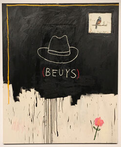 Wes Lang, 'Untitled (Beuys)', 2017