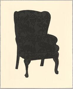 Humphrey Ocean, 'Black Love Chair', 2006