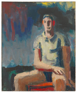 David Park, 'Man in a T-Shirt', 1958