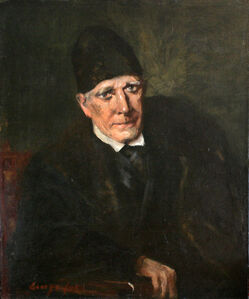 George Benjamin Luks, 'Portrait of an Old Man', 1905