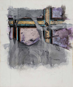 Robert Moskowitz, 'Village of the Mysteries', 1982