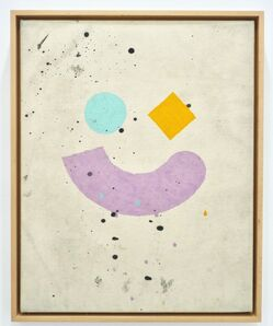 Nate Lowman, ' Untitled (Smiley Face Painting)', 2008