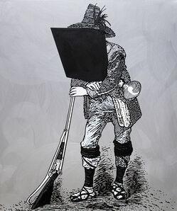 Gabriele Arruzzo, 'Ritratto del brigante Terenzio Grossi (1832-1860)', 2011