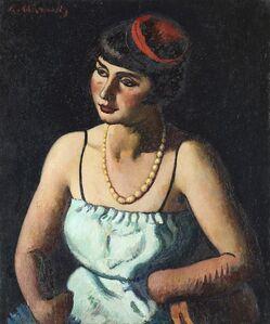 Piero Marussig, 'Danzatrice orientale', 1927
