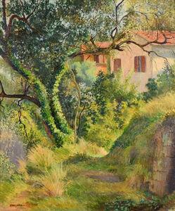 Georges Manzana-Pissarro, 'Le Chemin à l'Annonciade (Menton)', Executed circa 1950s