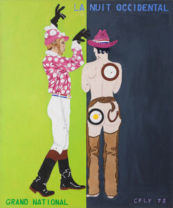 William Nelson Copley, 'La Nuit Occidental', 1978