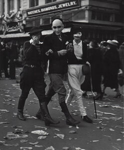 John Gutmann, 'The Game – New Orleans', 1937