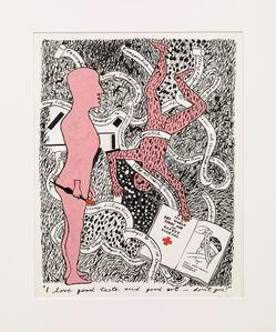 Derek Boshier, 'I Love Good Taste and Good Art - Don't you? ', 1979