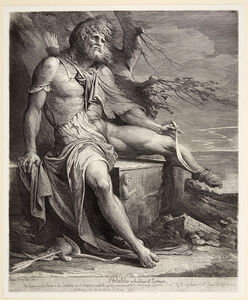 James Barry, 'Philoctetes', 1777
