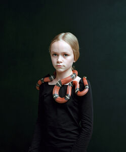 Bettina von Zwehl, 'Bloodlines series, Sari (Lampropeltis Triangulum Nelsoni) ', 2016
