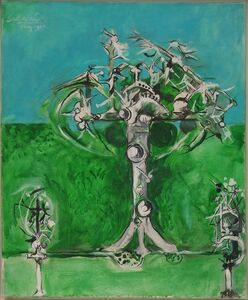Graham Sutherland, 'Thorn Trees, Spring', 1967