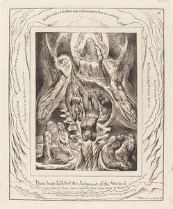 William Blake (1757-1827), 'The Fall of Satan', 1825