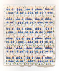 Jennifer Levonian, 'Blue Tulips/Airport Gate', 2015