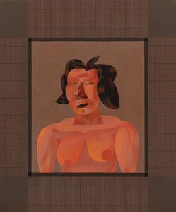 Jim Nutt, 'Plume', 1989
