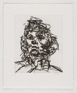 Frank Auerbach, 'Jake', 1990