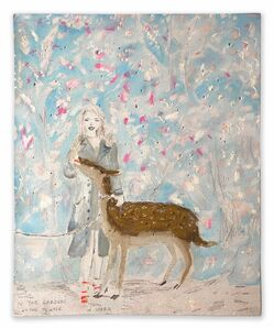 Mari Eastman, 'Junior Year Abroad or In the Gardens at Nara'