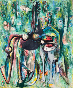 Wifredo Lam, 'Dark Malembo, God of the Crossroads ', 1943