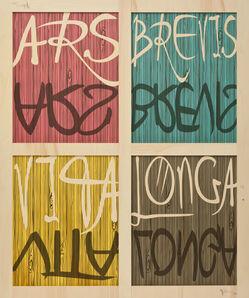 Meyer Vaisman, 'Ars Brevis, Vita Longa C, 5773', 2014