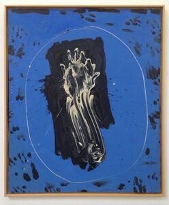 Emerson Woelffer, 'Blue Mirror White Hand', 1964