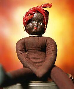 "Andres Serrano, '""Black Dolls - Sandy"" Vintage Rag Doll (Infamous)', 2019"