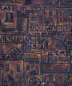 Manuel Pailós, 'Constructivo Montevideo', 1947