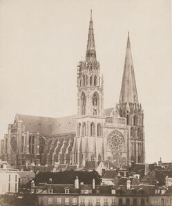 Charles Nègre, 'Chartres Cathedral', 1851/1851