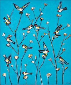 Jamil Molaeb, 'Birds in the Blue', ca. N/A