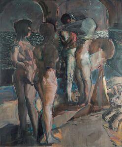 Armando Morales, 'Bañistas', 1987