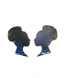 Mary Evans, 'Mirror Image Ultramarine Blue', 2013