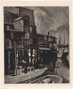 Howard Cook, 'Fog In Eastport (Duffy 83)', 1928