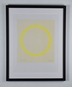 Peter Sedgley, 'Yellow Study', 1968