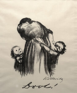 Käthe Kollwitz, 'Bread from War', 1924