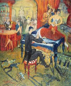 Franz Roth, 'Der Komponist / Le compositeur ', 2018