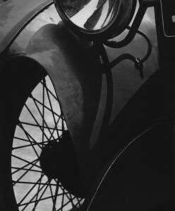 Paul Strand, 'Wire Wheel, New York', 1933