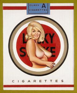 Mel Ramos, 'Lucky Lulu Blonde', 1965
