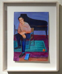 William Theophilus Brown, 'Untitled (Man with Piano) - Discounted 40% ', 1998