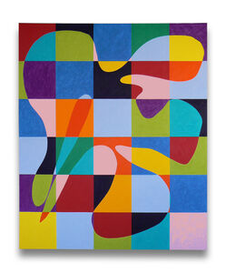 Dana Gordon, 'Went with the Flow (Abstract painting)', 2011