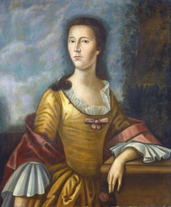 Benjamin West, 'Mary Bethel Boude (Mrs. Samuel Boude)', 1755/1756