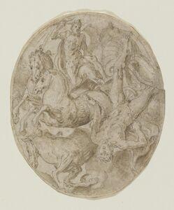 Frans Floris I, 'The Fall of Phaeton', ca. 1555