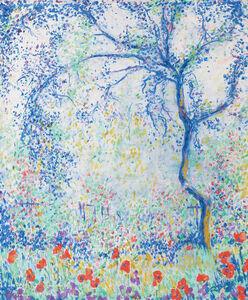 Theodore Earl Butler, 'Plum Tree in the Artist's Garden', 1934