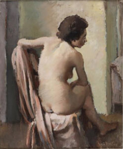 Vera Rockline, 'Nu de dos', painted circa 1933.