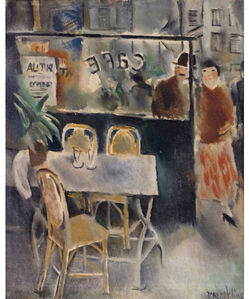 Vera Rockline, 'La terrasse de café', 1922