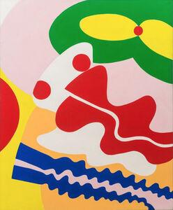Knox Martin, 'Pandora (Green Mouth, Red Nose)', 1972