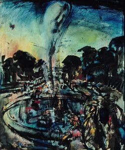 Georges Rouault, 'The Fountain in the Park of Versailles', 1905