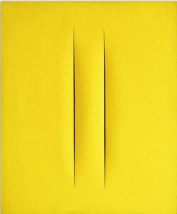 Lucio Fontana, 'Concetto Spaziale Attese'