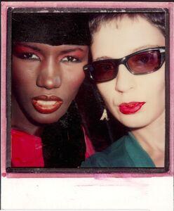 Maripol, 'Selfie Polaroid with Grace', 1979/2015