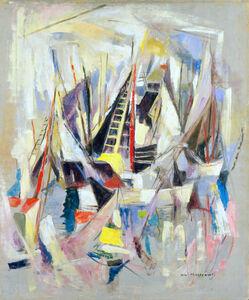 William Meyerowitz, 'White Sails', 1950