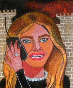 Bruna Massadas, 'Melania Speaks to Secret Service', 2016
