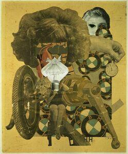 Hannah Höch, 'Das schöne Mädchen [The Beautiful Girl]', 1920