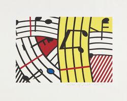 Roy Lichtenstein, 'Composition IV', 1995